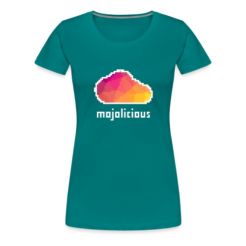 8bit Cloud - Women's Premium T-Shirt