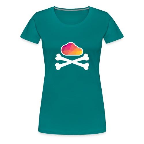 New Pirate Cloud in Color - Women's Premium T-Shirt