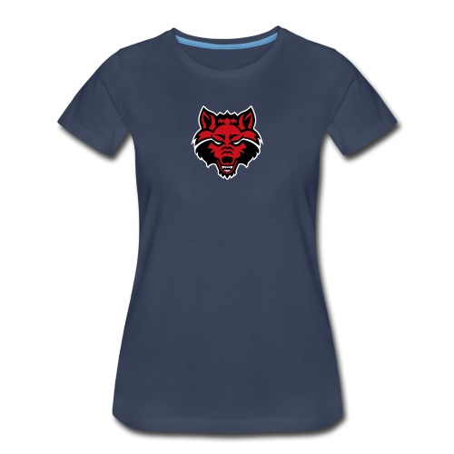 Red Wolf - Women's Premium T-Shirt