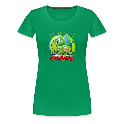 Gummibär Go Green Earth Day Earth - Women's Premium T-Shirt