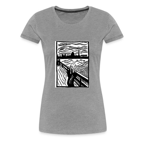 DC Screams - Women's Premium T-Shirt