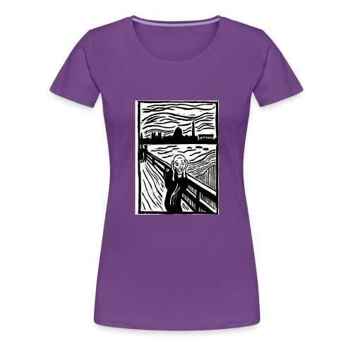 DC Screams - Women's Premium T-Shirt