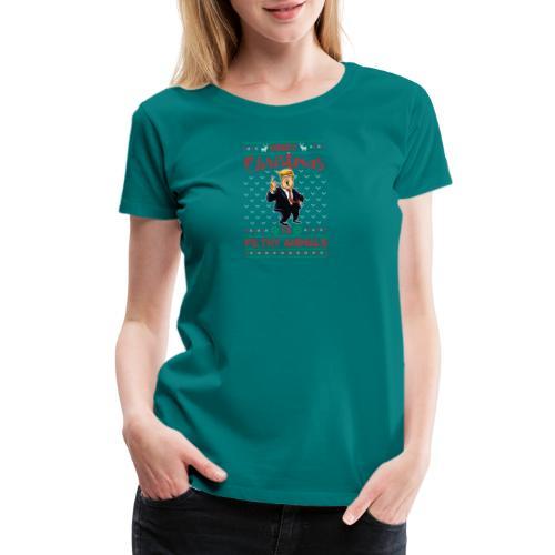 MEERRY CHRISTMAS YA FILTHY ANIMALS - Women's Premium T-Shirt