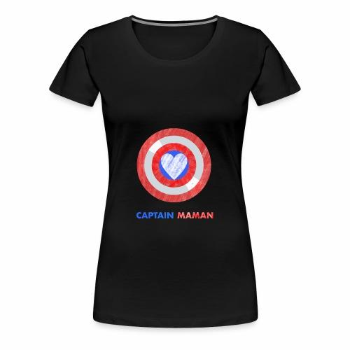 CAPTAIN MAMAN - Women's Premium T-Shirt