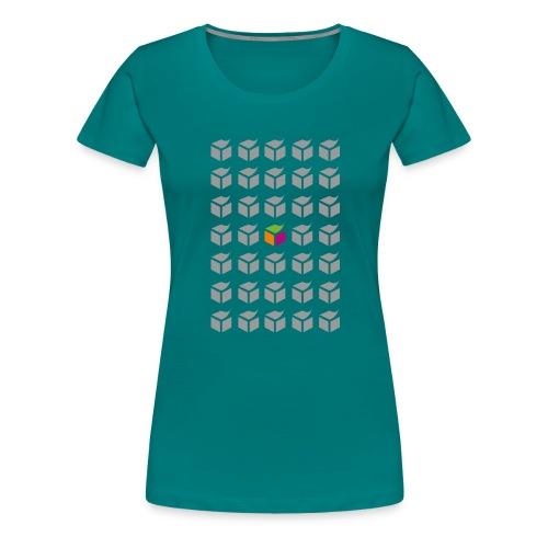 grid semantic web - Women's Premium T-Shirt