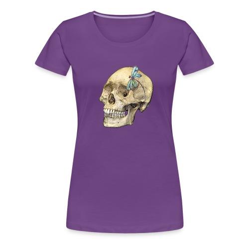 Skull & Dragonfly - Women's Premium T-Shirt