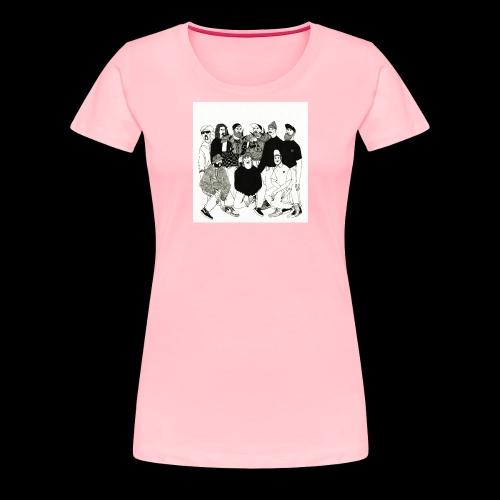 The DBD Show EP Cover Art - Women's Premium T-Shirt