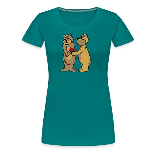 Baers - Alone or with text for figurative words - Women's Premium T-Shirt