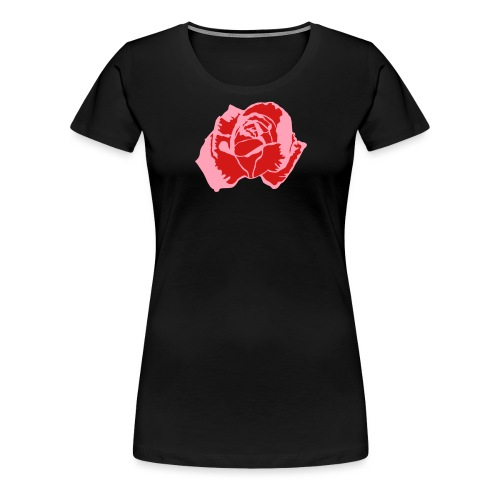 lil pink rose - Women's Premium T-Shirt