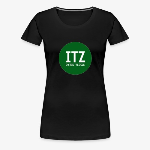 ITZ DAVID VLOGS - Women's Premium T-Shirt