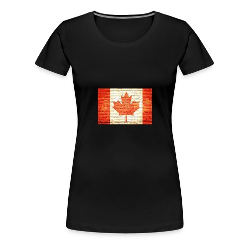 Canada flag - Women's Premium T-Shirt