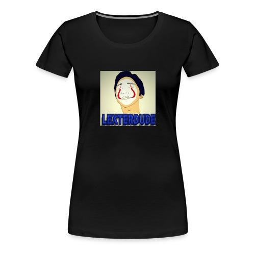 LEXTERDUDE MERCH - Women's Premium T-Shirt