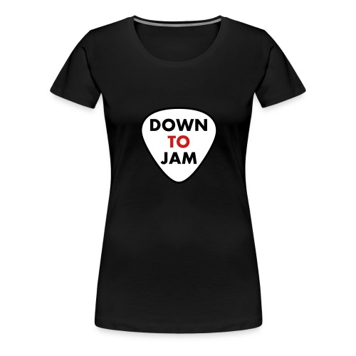 DownToJam 3 colour - Women's Premium T-Shirt
