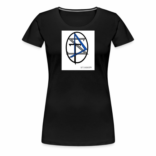 D T S Society Logo - Women's Premium T-Shirt