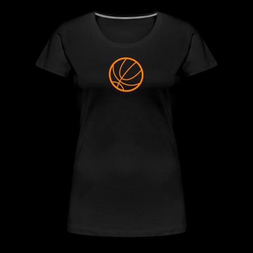 Basket Ball Is life Logo - Women's Premium T-Shirt