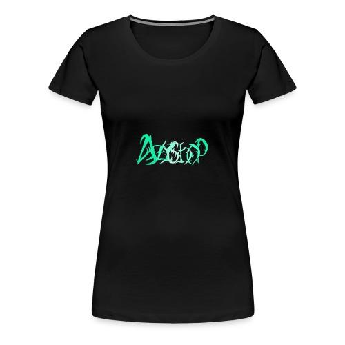 The logo of azyshop - Women's Premium T-Shirt