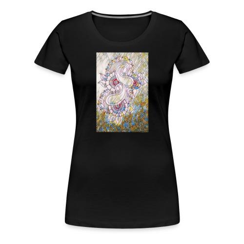 Henna glass - Women's Premium T-Shirt