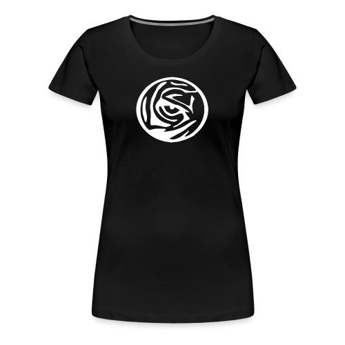 EYE OF THE TIGER WHITE LOGO - Women's Premium T-Shirt