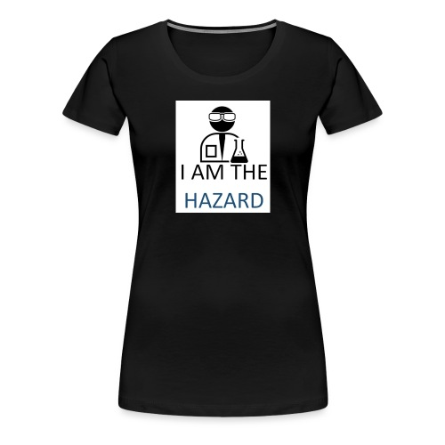 tshirt hazard design1 1 - Women's Premium T-Shirt