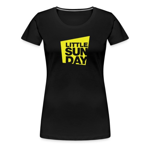littleSUNDAY Official Logo - Women's Premium T-Shirt