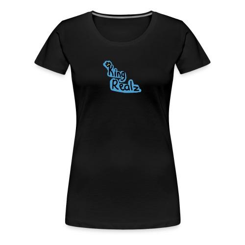 KingRealzMerch[TEXT] - Women's Premium T-Shirt