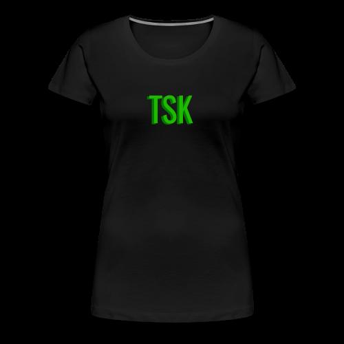 Meget simpel TSK trøje - Women's Premium T-Shirt
