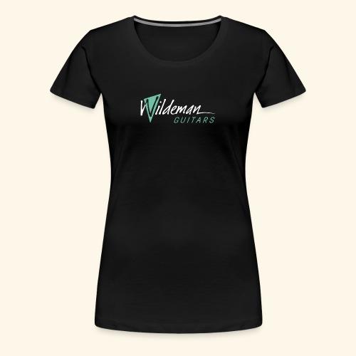Wildeman Guitars Color Logo - Women's Premium T-Shirt