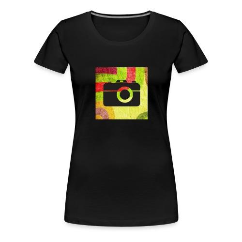 Stylist camera design - Women's Premium T-Shirt
