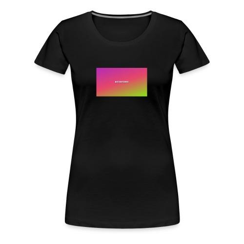 notsayingS - Women's Premium T-Shirt