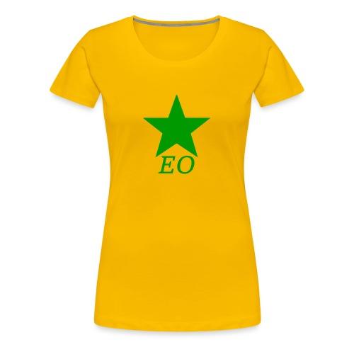 EO and Green Star - Women's Premium T-Shirt