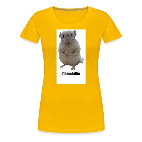 Chinchillin 1 png - Women's Premium T-Shirt