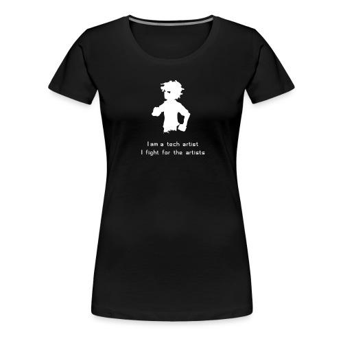 iamatechartist - Women's Premium T-Shirt