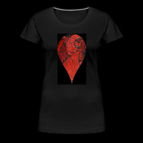 Heart Drop - Women's Premium T-Shirt