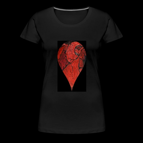 Heart Drop - Women's Premium T-Shirt