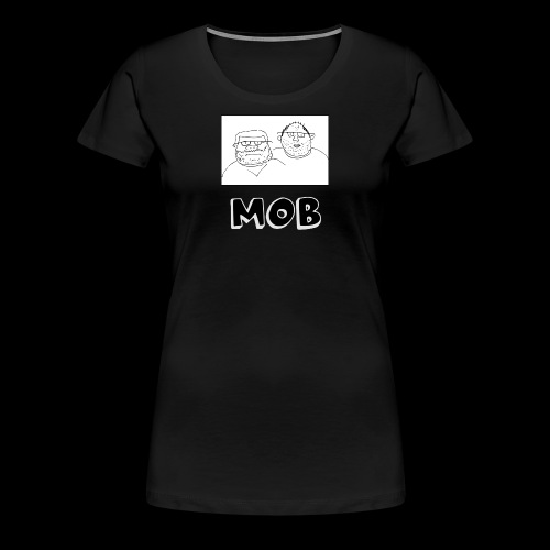 MOB Logo - Women's Premium T-Shirt