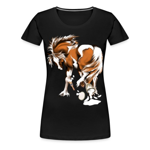 Paints and Paints.... - Women's Premium T-Shirt