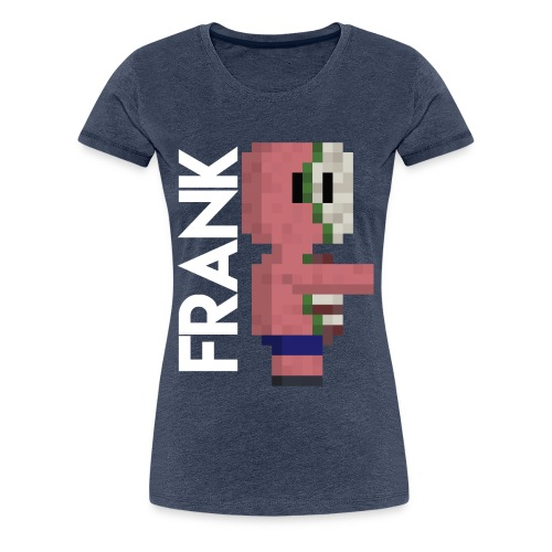 pig, Zombie, pixelart, Zombie pig Minecraft mug. - Women's Premium T-Shirt
