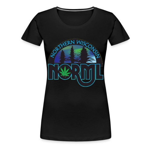 Northern Wisconsin NORML Official Logo - Women's Premium T-Shirt