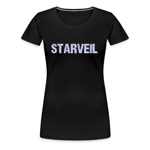 StarveilLogoOld-BLUE2 - Women's Premium T-Shirt