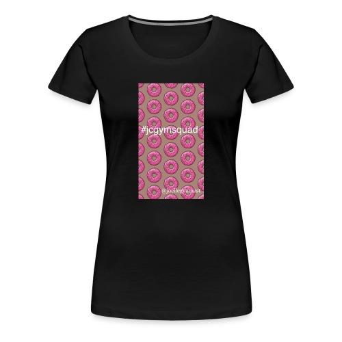 joellegymnast fan!! - Women's Premium T-Shirt