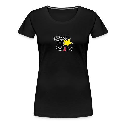 Team8JTVblack png - Women's Premium T-Shirt