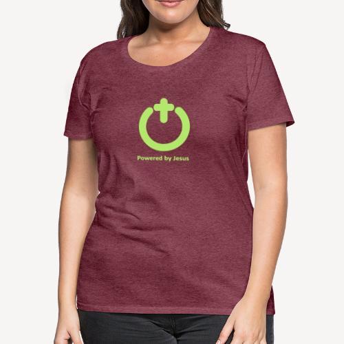 POWERED BY JESUS - Women's Premium T-Shirt