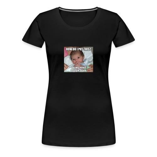 funny baby - Women's Premium T-Shirt