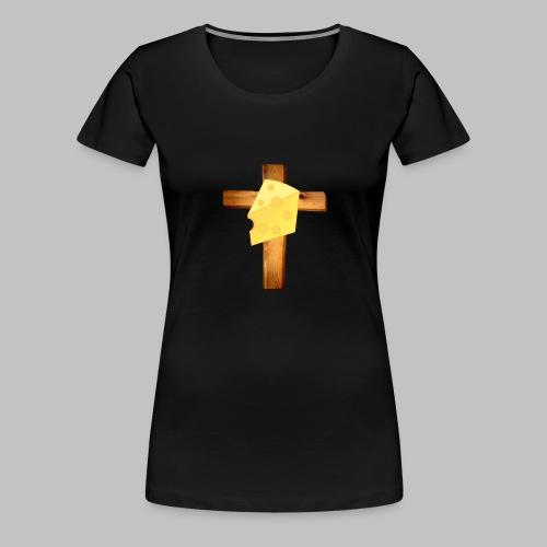 cheesus christ - Women's Premium T-Shirt