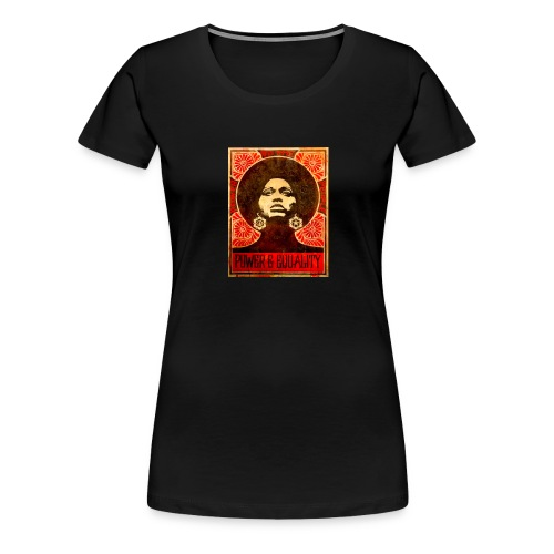Angela Davis proPoster - Women's Premium T-Shirt