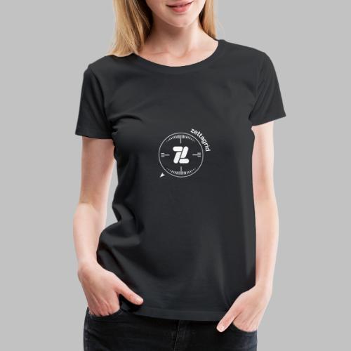 Zettagrid Round Target - Women's Premium T-Shirt