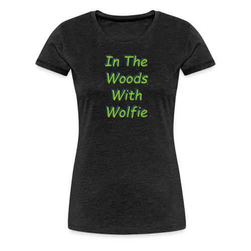 New Text logo - Women's Premium T-Shirt