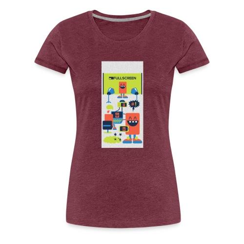 iphone5screenbots - Women's Premium T-Shirt