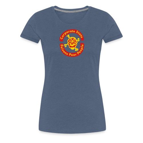 Corporate State - Women's Premium T-Shirt