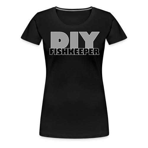 diyfishkeeper png - Women's Premium T-Shirt